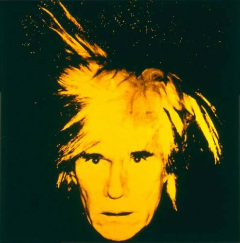 Andy Warhol - Warhol autoritratto