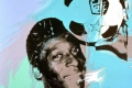 Andy Warhol - Pelè brazilian football player