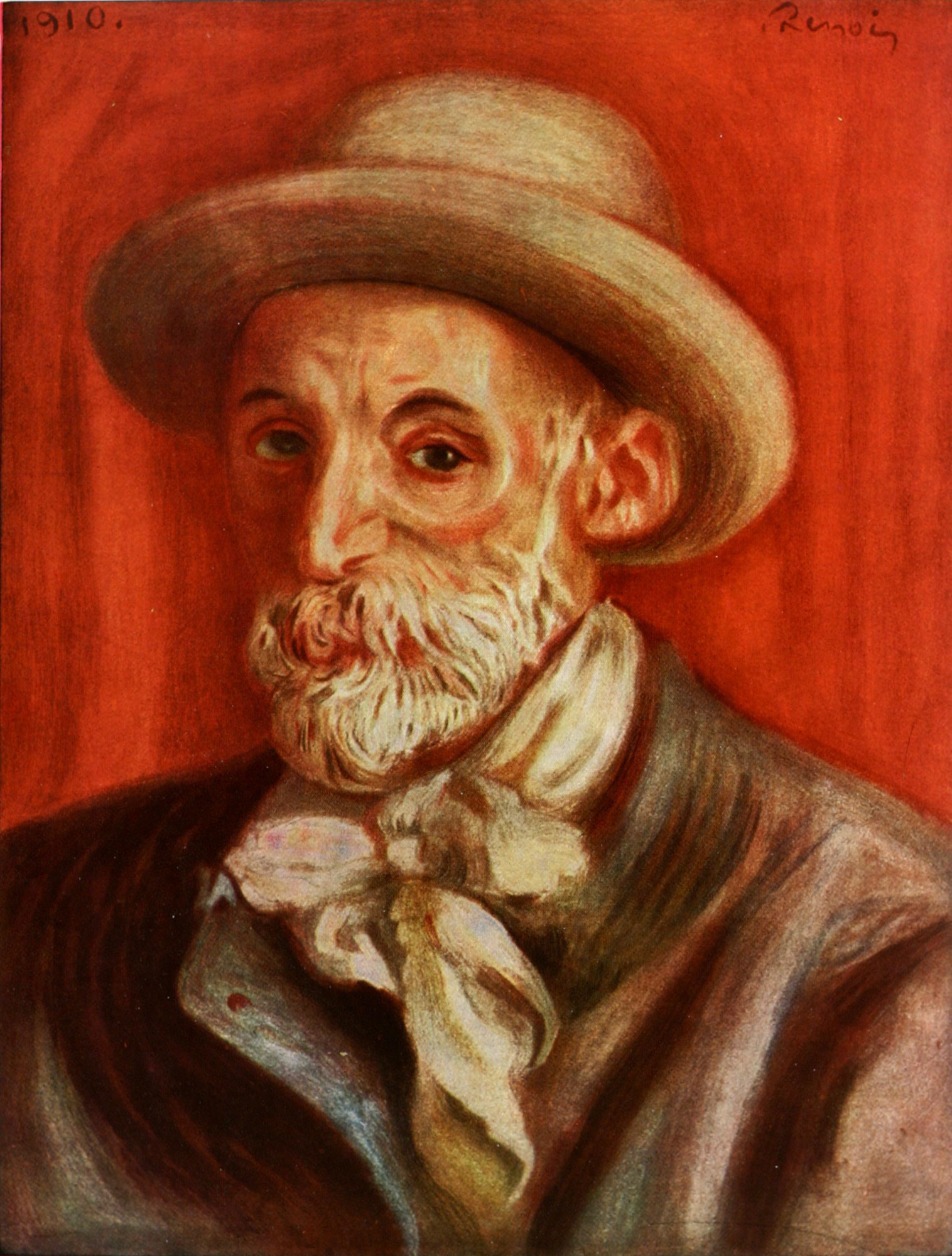Auguste Renoir - Self portrait