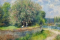 Auguste Renoir - Chestnut tree in bloom