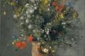 Auguste Renoir - Flowers in a vase