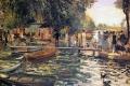Auguste Renoir - La grenouillere