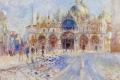 Auguste Renoir - Piazza San Marco Venice
