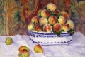 Auguste Renoir - Still life with peaches