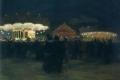 Balla Giacomo - Fiera a Parigi luna park Parigi