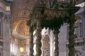 Bernini Gian Lorenzo - Baldachino chiesa S Pietro Roma