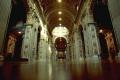 Bernini Gian Lorenzo - San Pietro piloni navata decorati da Bernini commissione Innocenzo X