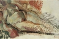 Boccioni Umberto - Nudo simultaneo