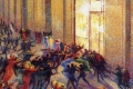 Boccioni Umberto - Rissa in galleria