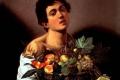 Caravaggio Michelangelo Merisi - Fanciullo con canestro di frutta