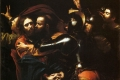 Caravaggio Michelangelo Merisi - Gesù baciato da Giuda il tradimento la cattura