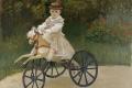 Claude Monet - Jean monet on his hobby horse