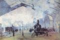 Claude Monet - La gare saint lazare