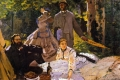 Claude Monet - Dejeuner herbe colazione sull'erba