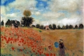 Claude Monet - Poppies blooming