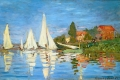 Claude Monet - The regatta at argenteuil
