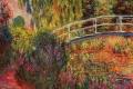 Claude Monet - The water lily pond japanese bridge