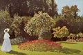 Claude Monet - Woman in the garden sainte adresse