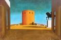 De Chirico Giorgio - La torre rossa