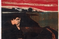 Edvard Munch - Eevening melancholy I
