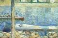 Edvard Munch - The seine at saint cloud