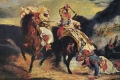 Eugene Delacroix - Combat of the giaour and the pasha