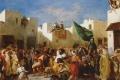 Eugene Delacroix - Delacroix fanatics of tangier
