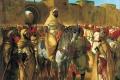 Eugene Delacroix - Il sultano del marocco