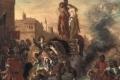 Eugene Delacroix - Jerusalem delivered clorinda rescues olindo and sophronia