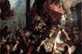 Eugene Delacroix - The justice of trajan