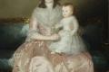 Francisco Goya - Condesa de altamira and her daughter maria agustina