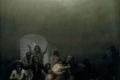 Francisco Goya - Courtyard with lunatics