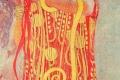 Gustav Klimt - Hygeia detail of medicine
