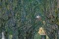 Gustav Klimt - In schloss kammer park