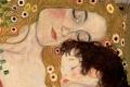 Gustav Klimt - Mother and child