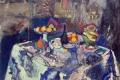 Hhenri Matisse - Vase bottle and fruit