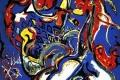 Jackson Pollock - La donna luna taglia il cerchio