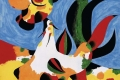 Joan Mirò - Painting of rooster