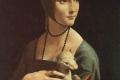 Leonardo Da Vinci - La donna con ermellino ritratto di cecilia gallerani