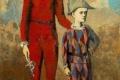 Pablo Picasso - Acrobate et arlequin