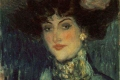 Pablo Picasso - Femme au chapeau plumes