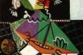 Pablo Picasso - Fille au bateau