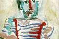 Pablo Picasso - L'homme assis