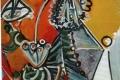 Pablo Picasso - Le gentilhomme la pipe