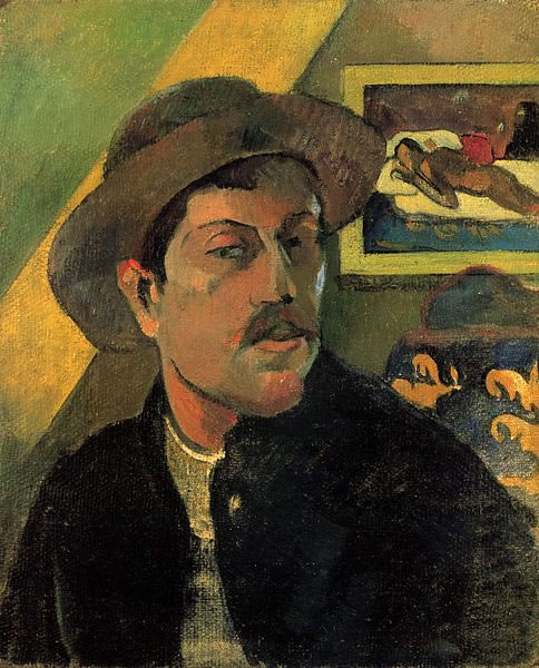 Paul Gauguin - Self Portrait 01