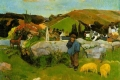 Paul Gauguin - The swineherd brittany
