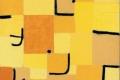 Paul Klee - Zeichen in gelb