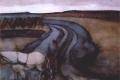 Piet Mondrian - At work on the land