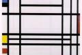 Piet Mondrian - Composition 10