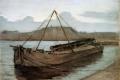 Piet Mondrian - Evening at weesperzijde sun